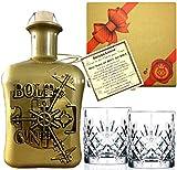 BOLT Gin Sonderedition GOLD Geschenk aus Deutschland Edelmanufaktur Luxus Dry Gin Tresor wilde...