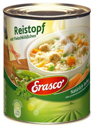 Erasco Reistopf mit Fleischklößchen, 6er Pack (6 x 800 g Dose)