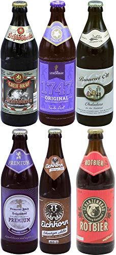 Fränkische Biere (6 Flaschen Geschenkset)