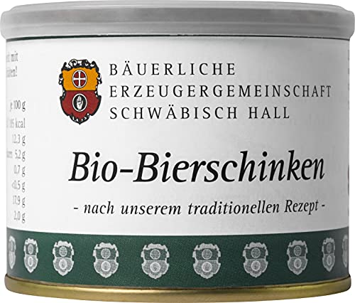 Bäuerliche Erzeugergemeinschaft Schwäbisch Hall Bio Bierschinken, 200 g