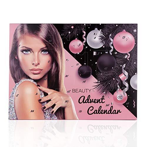 Accentra Adventskalender Kosmetik für Frauen & Teenager Mädchen, Schminke-Set mit 24 Make-up...