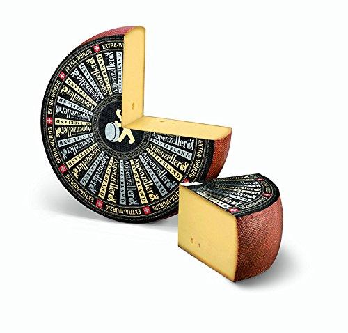Appenzeller Käse EXTRA WÜRZIG Schweizer Käse ganzer Laib ca 6 kg
