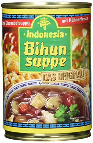 Indonesia Bihunsuppe das Original, Glasnudelsuppe mit Huhn, 390ml