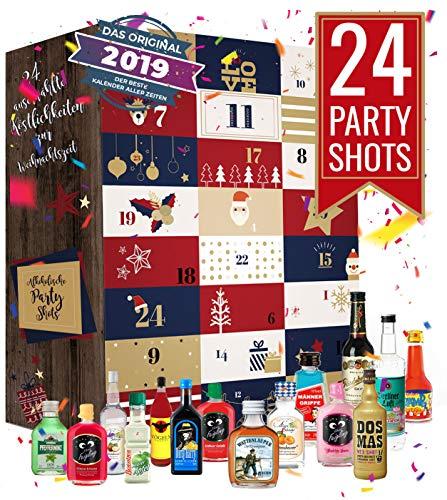 Schnaps Adventskalender I Likör Adventskalender I Alkoholkalender - in der Vorweihnachtszeit jeden...