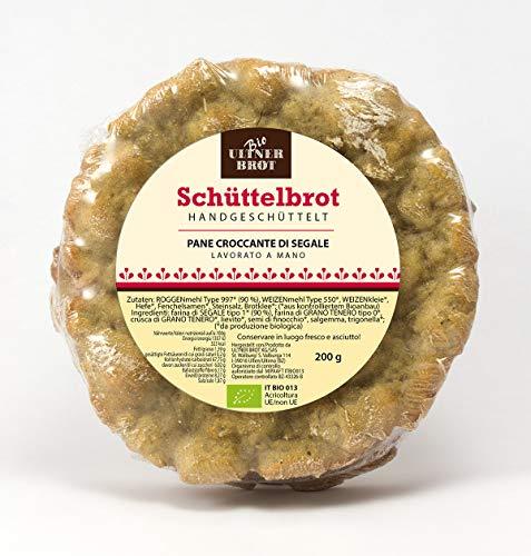 Bio Schüttelbrot handgeschüttelt aus Südtirol - 3 Stück, ca. 200 g