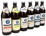 Ettl Bru Teisnacher Gemischtes Sixpack, Sechser-Pack inkl. Pils, Natur Radler, Zwickl, Weibier,...