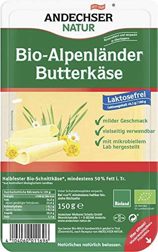 Andechser Natur Bio Bio Alpenländer 50% Scheiben (6 x 150 gr)