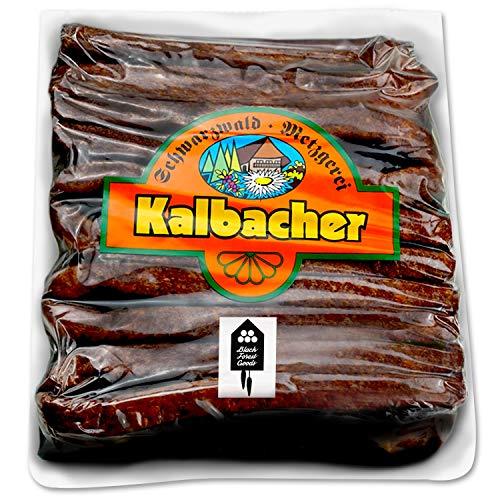 Schwarzwälder Landjäger - 10 Paar - Kalbacher Rohwürste - Hoher Anteil mageres Rindfleisch -...