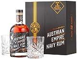 Albert Michler Navy Rum Solera 18YO 0.7 l + 2 Gläser -GB- Dark