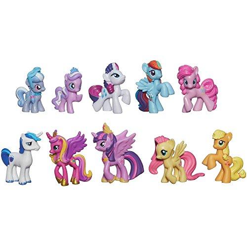 My Little Pony Friendship is Magic Cutie Mark Magic Princess Twilight Sparkle & Friends Mini...