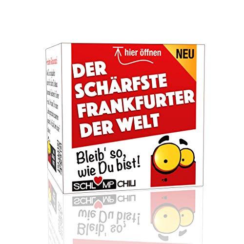 Der schärfste Frankfurter der Welt - ein witziges und originelles Geschenk zum Umzug, Neuanfang,...