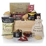 Tee Freuden Geschenkkorb - Luxus-Präsentkorb zum Essen und Trinken für Ihn oder für Sie –...