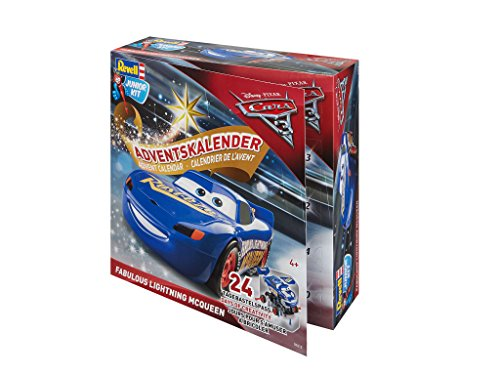Adventskalender Fabulous Lightning McQueen von Revell Junior Kit - Disney Cars 3 - 24 Tage cooler...