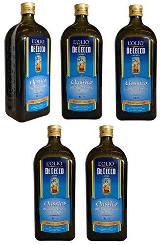 Olivenöl De Cecco IL CLASSICO (5 X 1000 ml) extra nativ
