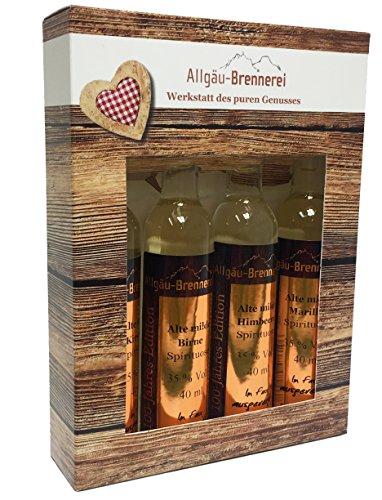 Allgäu-Brennerei Miniaturen-Set'Alte Milde' - 4 x 40 ml