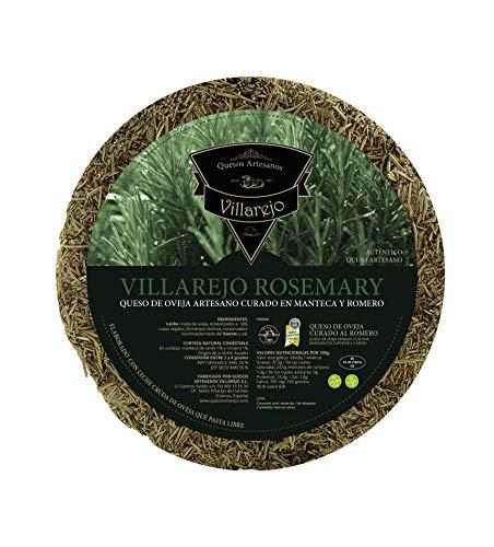 Manchego Käse 15 Monate gereift, 1.2 kg, Butter und Rosmarin, Schafskäse aus 100% pasteurisierter...
