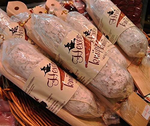 Hexenknüppel | Salami aus Schweinefleisch | Feine Edelsalami | Harzer Spezialität