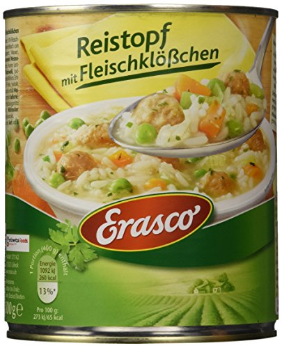 Erasco Reistopf mit Fleischklößchen (1 x 800 g Dose)