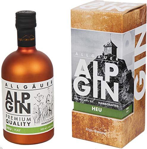 AlpGin'Heu' - Gin aus dem Allgäu 44% Vol. 500 ml