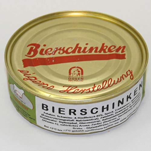Bierschinken 200g, Dosenwurst/Wurstkonserven von der Landmetzgerei Sandritter