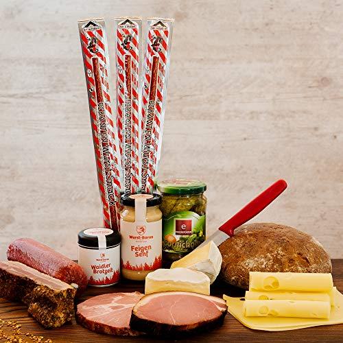 WURSTBARON® Fauler Sack-Paket - Bayerisches Vorratspaket - Wurstpaket mit Wurst, Käse, Butter &...