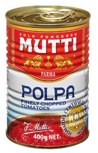 12x Mutti - Polpa Tomaten gehackt - 400g
