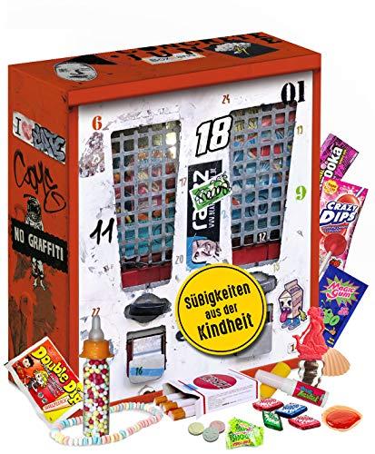 Nostalgie Adventskalender I Kalender mit früheren Süßigkeiten I Geschenkset nostaglisch werden I...