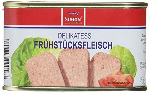 Werner Simon Frühstücksfleisch 200g l leckeres Schweinefleisch in der praktischen recycelbaren...