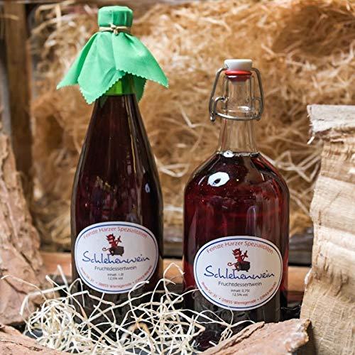 Schlehenwein   Fruchtwein aus Schlehen   Harzer Weinspezialität