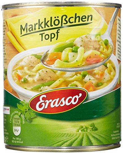 Erasco Markklößchen Topf (1 x 800 g Dose)