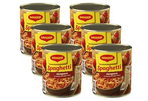Maggi Spaghetti Bolognese   Nudelgericht mit Fleisch- und Tomatensauce   Nach italienischem Rezept  ...