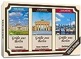 Berlin Souvenirs. Bio Schokoladen Geschenk. Weckt Berliner Luft Gefühle. Ein Geschenk für Frauen,...