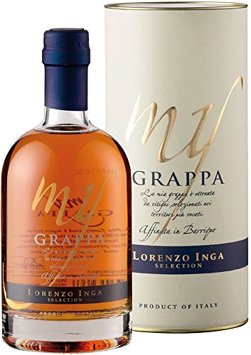 Inga My Grappa Affinata in Barrique Selection in Geschenkröhre (1 x 0.5 l)