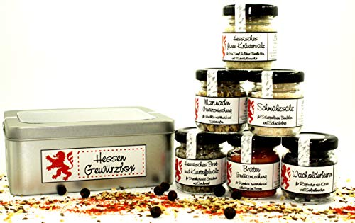 Hessen - Gewürzbox in der Geschenkdose