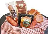Schlemmerbox Wurstgeschenk & Kaffee Set   Salami Schinken geräuchert auf Buchenholz Delikatessen...