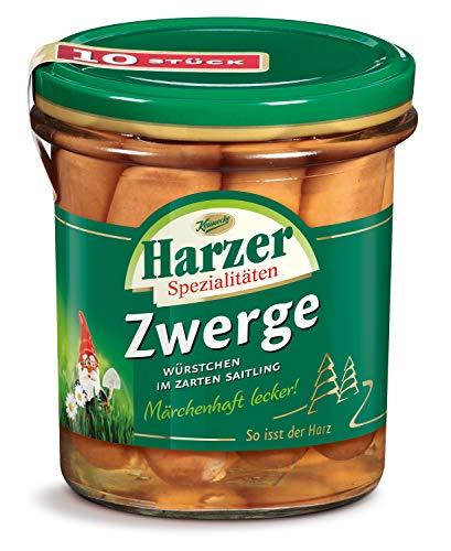 Harzer Spezialitäten Zwerge (kleine Würstchen), 375 g