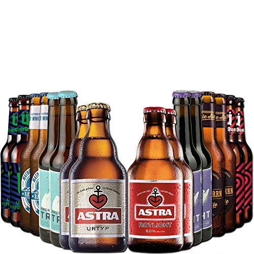 Hamburg Bierpaket von BierSelect mit 16 Bieren - tolles Geschenkset oder Biergeschenk für...