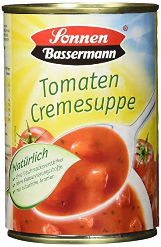 Sonnen Bassermann Tomaten-Cremesuppe, 6er Pack (6 x 400 ml Dose)