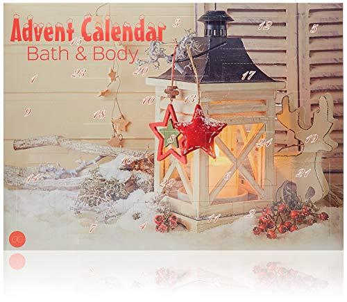 Accentra Adventskalender Beauty mit 24 Körperpflege & Badespaß Kleinigkeiten, abwechslungsreicher...