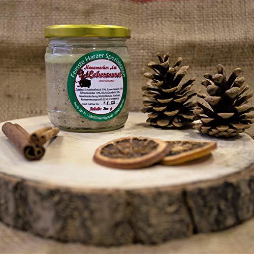 Hausmacher Art Leberwurst | Harzer Wurstspezialität im praktischen Einweckglas
