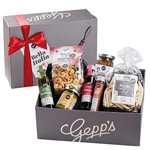 Gepp's Feinkost Bella Italia Geschenkbox | Geschenkkorb gefüllt mit feinsten italienischen...