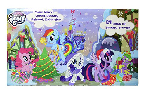 Markwins My Little Pony Beauty Adventskalender 2018 mit 24 magischen Überraschungen für Haare,...