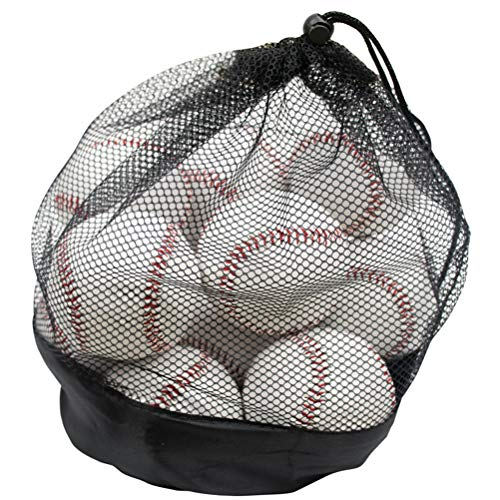 Lawei 12er Pack Baseball bälle Offiziel Freizeitgebrauch für Jugendliche Erwachsene ohne Makierung...