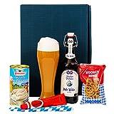 Geschenkset Augsburg | Bayern Geschenkkorb mit Bier & bayrische Spezialitäten | Bayerisches...