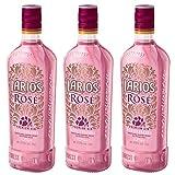 Larios Rosé Mediterránea Premium Gin 37,5% Vol. 3 x 0,7 Liter