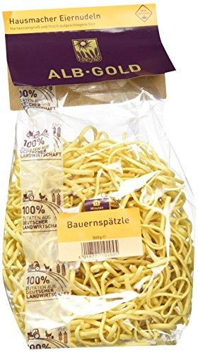 AlbGold Bauernspätzle (1 x 500 g Packung)