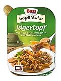 Buss Jägertopf - Nudeln mit Fleischklößchen und Champignons, 12er Pack (12 x 300 g)
