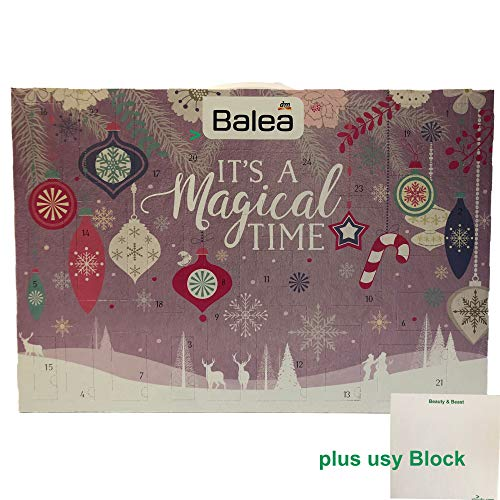 Balea Adventskalender 2019 (1x Plus usy Block)