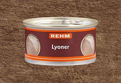 Rehm Schwäbische Lyoner - 4 x 125 g Dosen