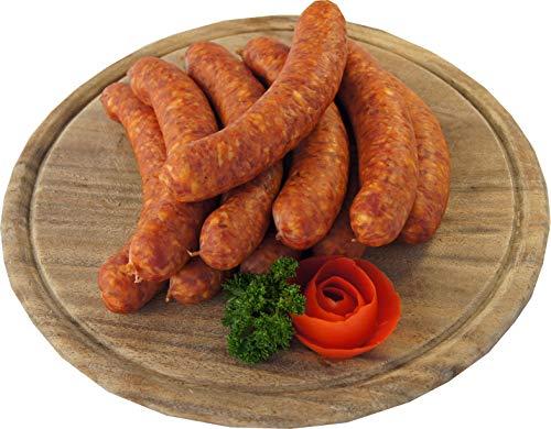 Schweineknacker mit Kümmel | Knacker | Snackwurst | Krainer Würstchen | Premium Mettwurst...
